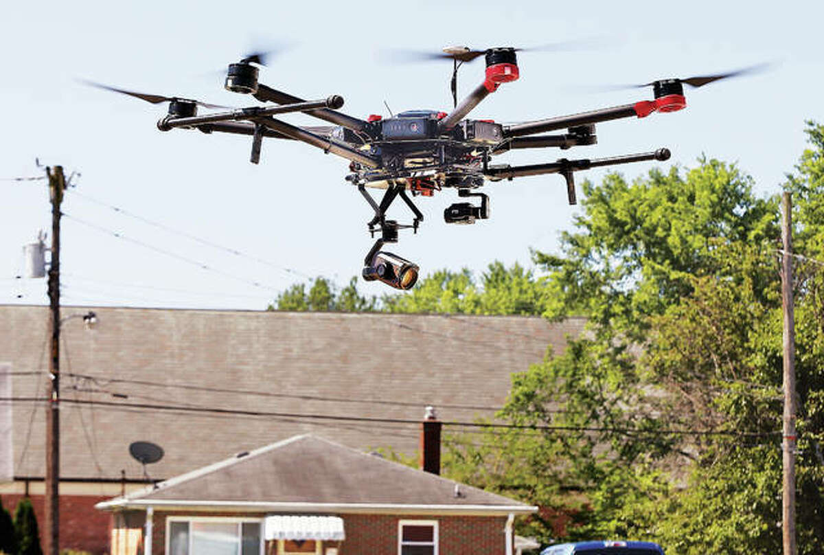 Madison County Sheriff's Department purchased this Matrice 600 UAV drone earlier this year.