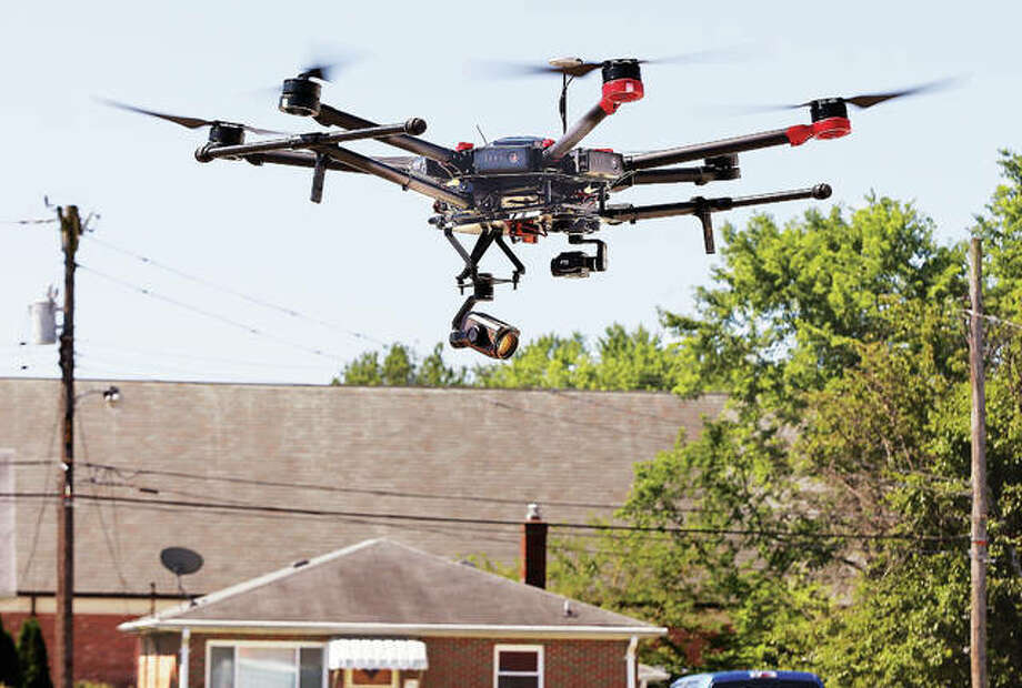 Madison County Sheriff's Department purchased this Matrice 600 UAV drone earlier this year. Photo: File Photo By John Badman | The Telegraph