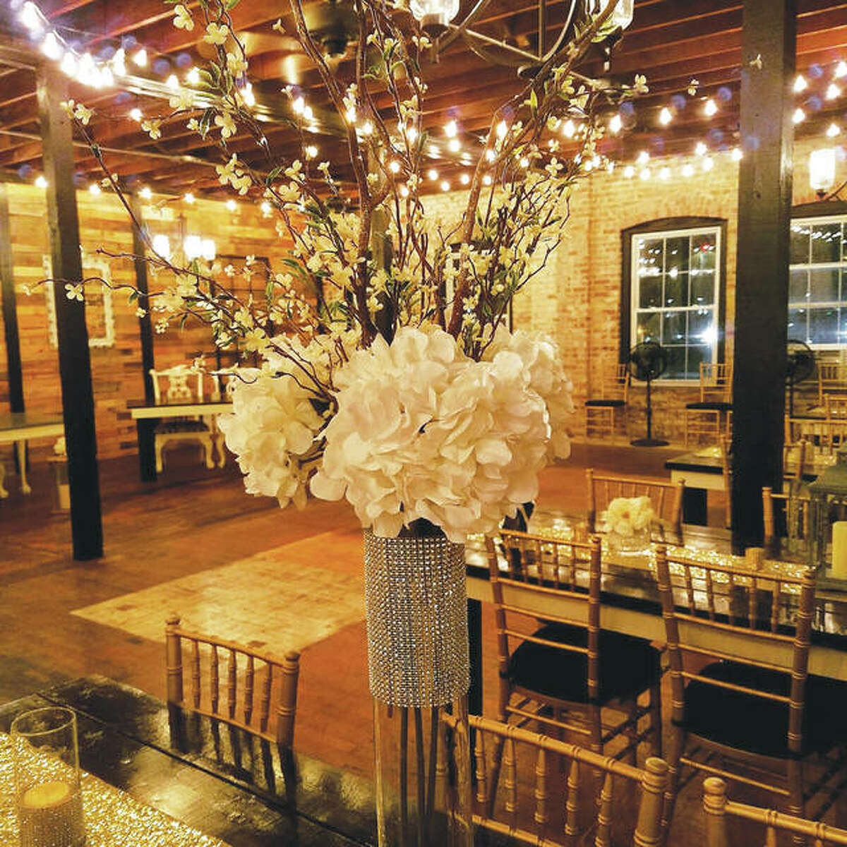 Clients who rent the event center can bring their own decorations, choose their own caterer or bring their own food.