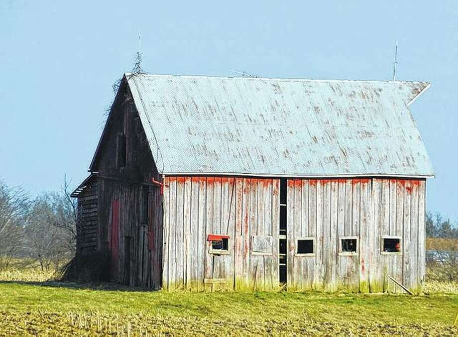 An old barn north of Jacksonville brings a reminder of simpler days on the farm.