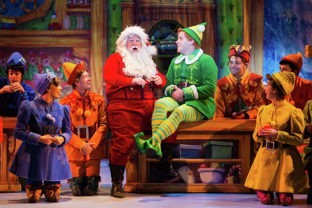 """""""Elf"""" will take the stage at Peabody Opera House. Tickets may be purchased at the Scottrade Center Box Office, all Ticketmaster Ticket Centers, by phone at 800-745-3000, or online at www.ticketmaster.com. Performances are scheduled for at 7:30 p.m., Tuesday, Dec. 26, through Thursday, Dec. 28."""