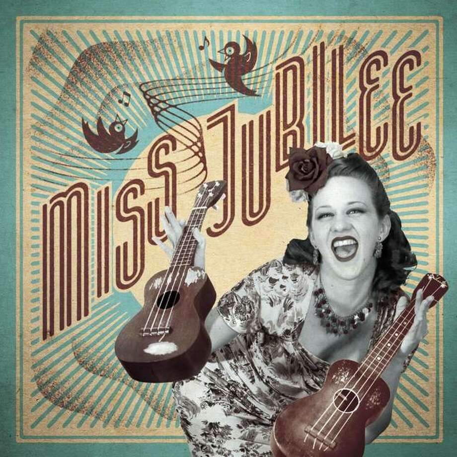 Miss Jubilee features vocalist Valerie Kirchhoff; Dan Conner on drums and washboard; Ethan Leinwand on piano; Ken Cebrian on trumpet; and, Richard Tralles on upright bass. Photo: For The Telegraph