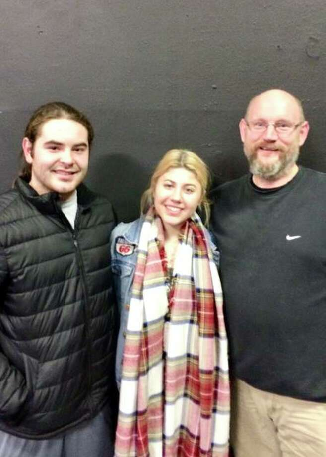 Kurtis Leible, left, Mary Grace Brueggemann, center, and Brant McCance will all be directing plays at Alton Little Theater Showplace. Photo: For The Telegraph