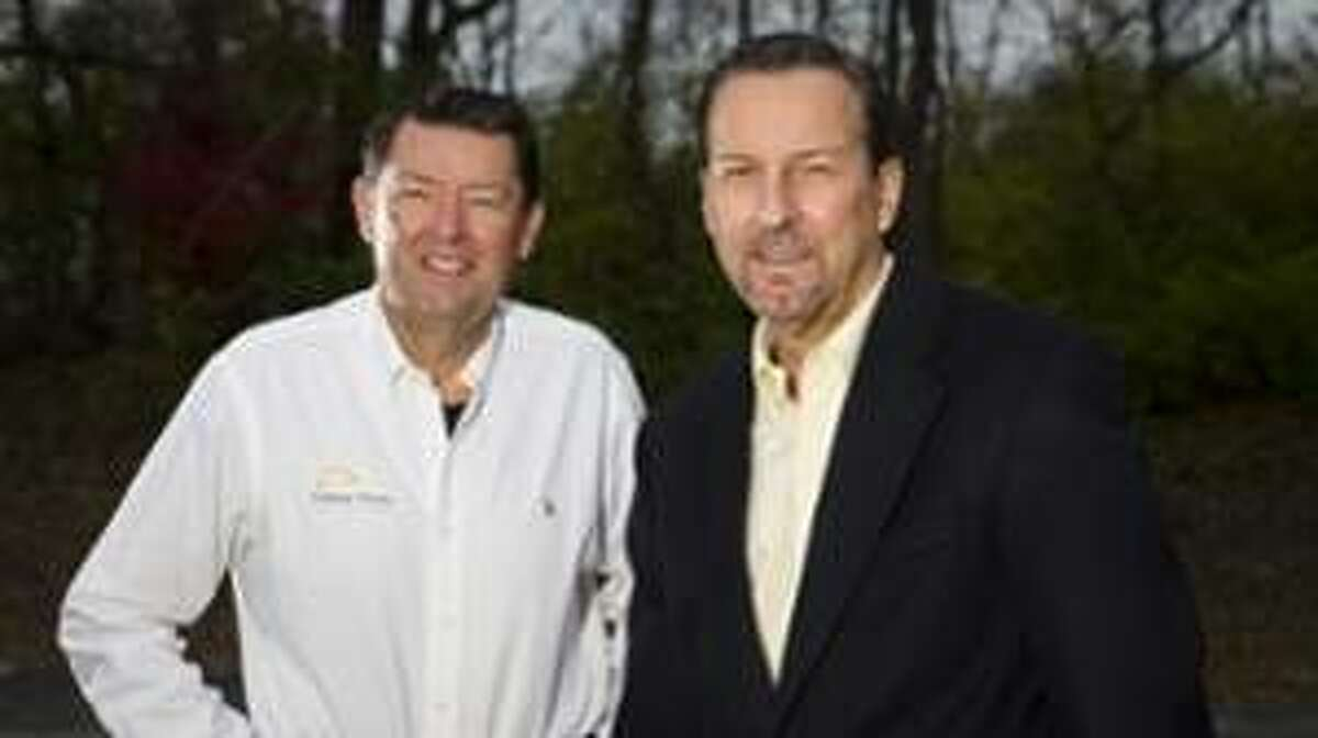 Steve Boyd, left, and Jeff Stassi, owners of Central Illinois Care Services (CICS).