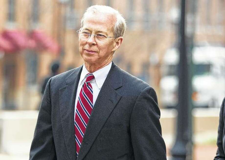 Evan Vucci | AP Dana Boente leaves federal court in Alexandria, Virginia, in 2014. Boente is a Carlinville native who became acting U.S. attorney general after President Donald Trump fired acting Attorney General Sally Yates.