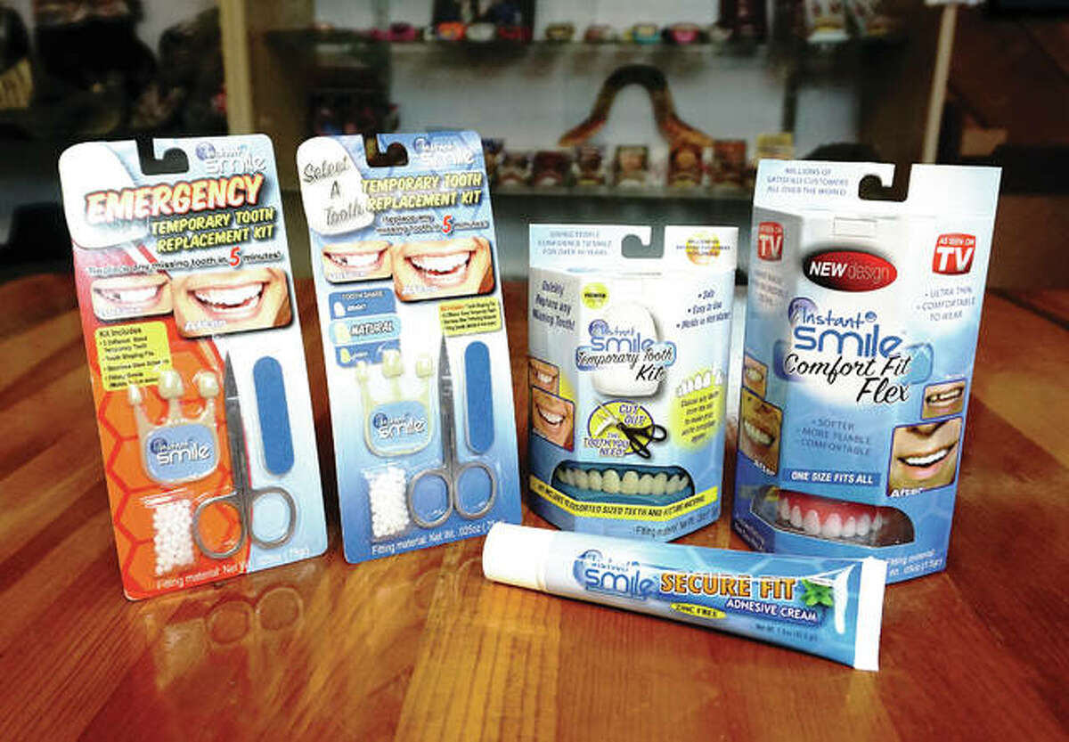 Products are pictured from Billy Bob Teeth Inc.'s oral care division, dubbed the William Robert Teeth Co. The division, created 10 years ago, sold one-million units last year.