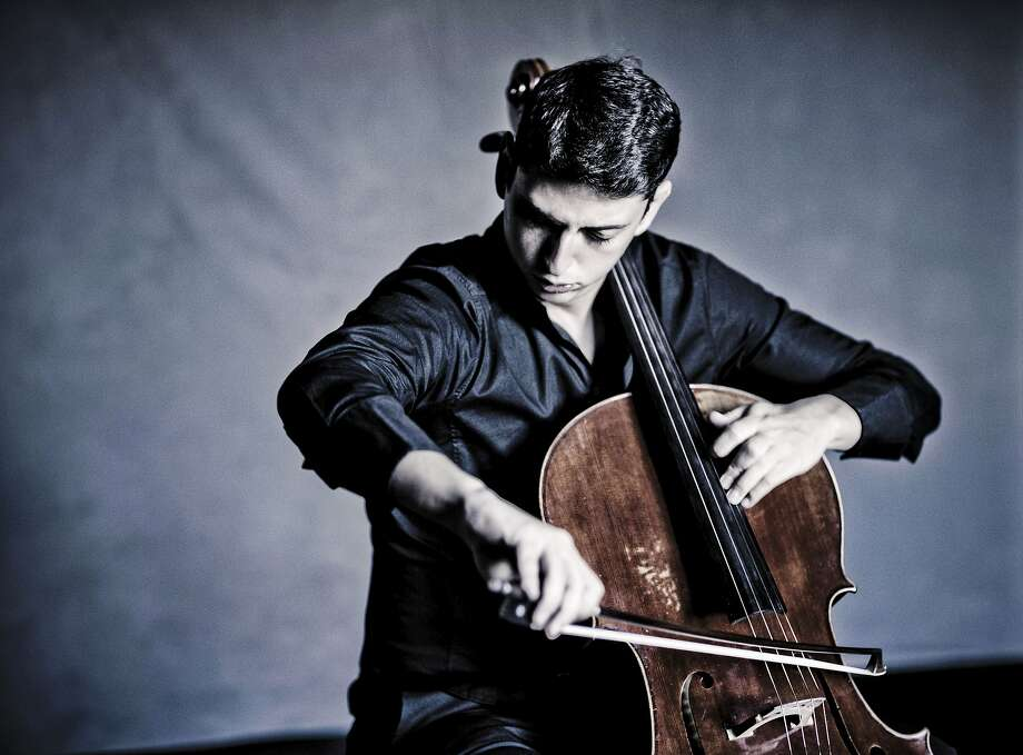 Cellist Narek Hakhnazaryan is set to play at S.F. Conservatory of Music. Photo: Marco Borggreve