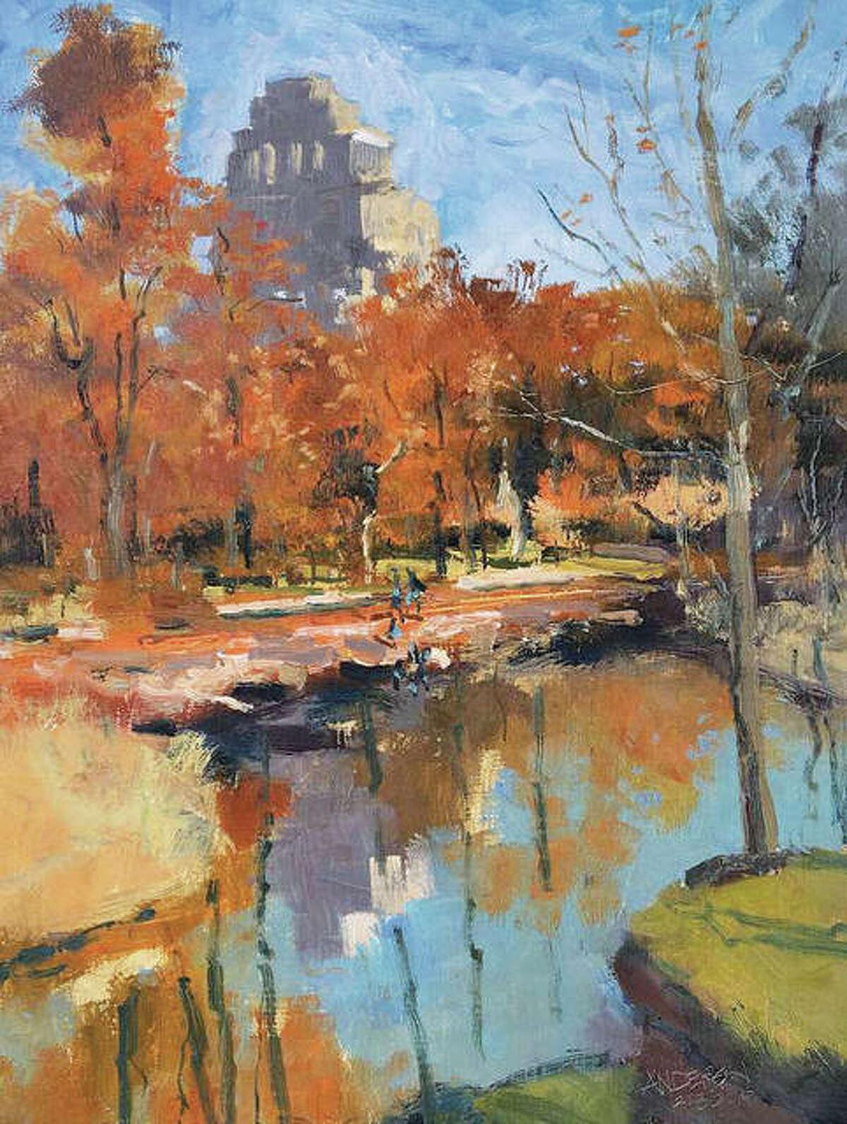 """Michael Anderson's """"Still Autumn."""""""