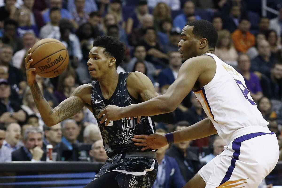 notebook spurs down to one veteran point guard for showdown with