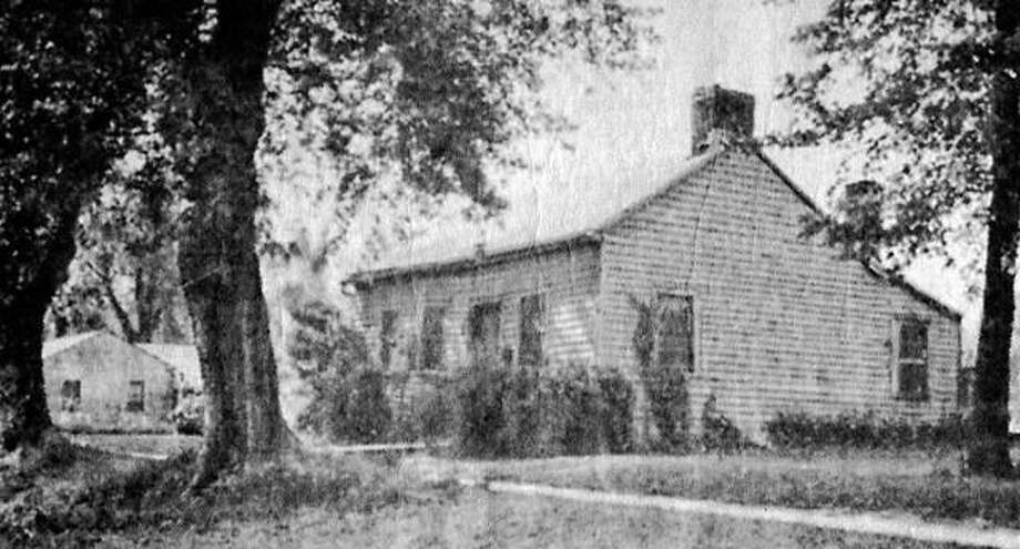 The historic Shastid House in Pittsfield in 1938. The house is in the National Register of Historic Places.