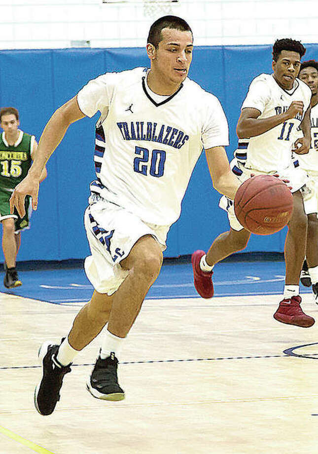 Rafael Cruz of LCCC scored 23 points and helped his team rally for a 95-90 home victory Saturday over Olney Central. Photo: LC Athletics