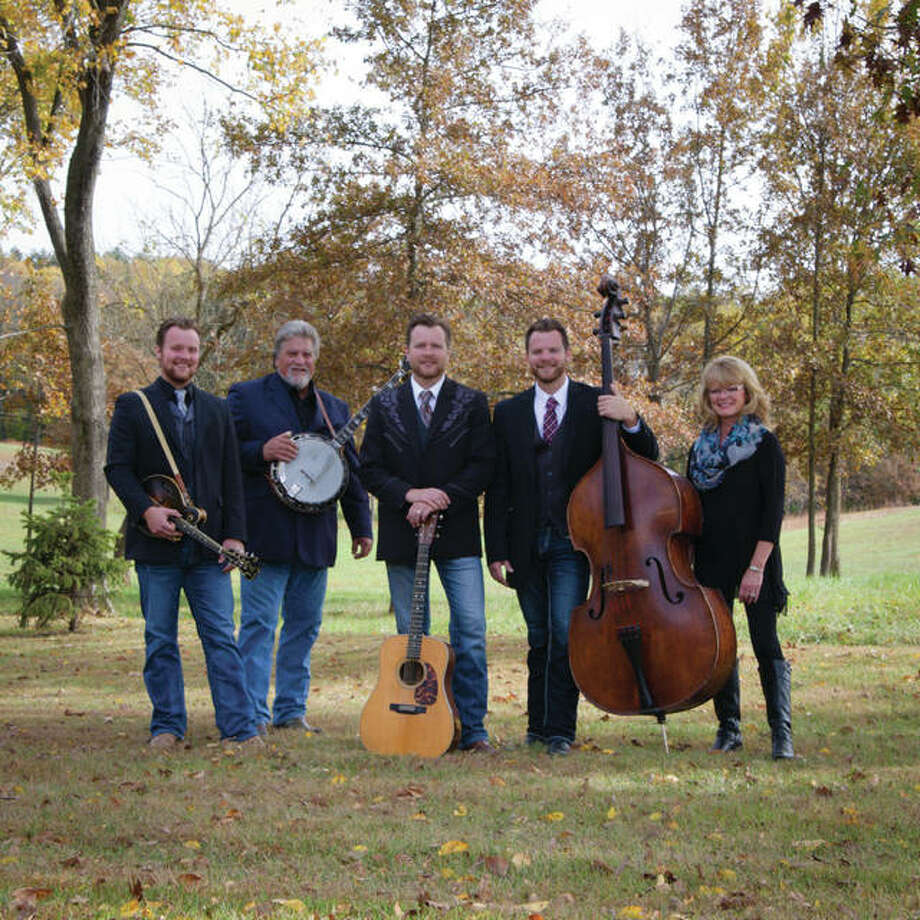 "The Harman Family Bluegrass Band includes family patriarch and leader Mike Harman, 58, his sons — Mark, 30; Jeff, 27; and, John, 21 — accompanied by their mother and family matriarch, Stacy Harman, 58. They will celebrate their 40th annual ""Harmans and Guests"" concert Saturday, always held at Lewis and Clark Community College in Godfrey. Photo: For The Telegraph"
