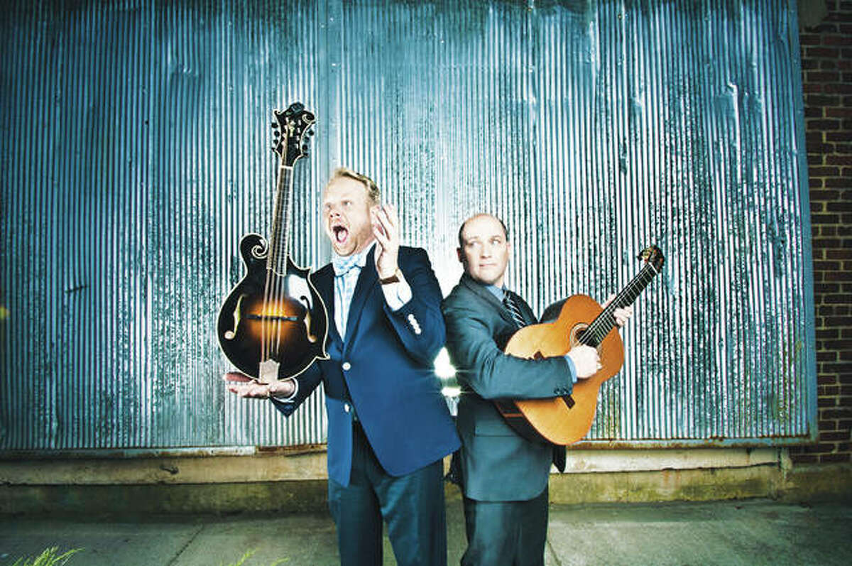 """Dailey & Vincent is a multi-Grammy nominated duo featuring Jamie Dailey and Darren Vincent, who will perform at the 40th annual """"Harmans and Guests"""" concert Saturday, always held at Lewis and Clark Community College in Godfrey."""