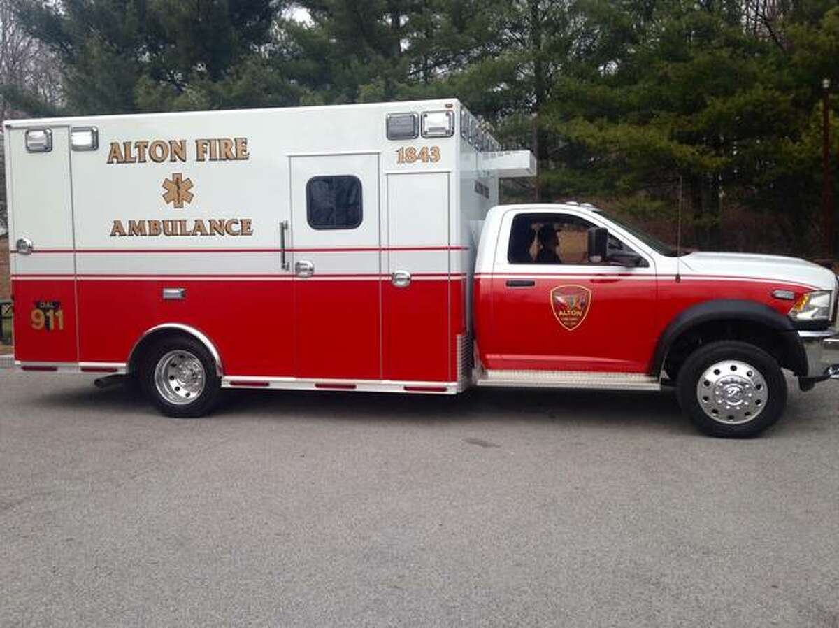 Alton Fire Department's third ambulance went into service Friday afternoon, Jan. 12. Linda N. Weller/The Telegraph