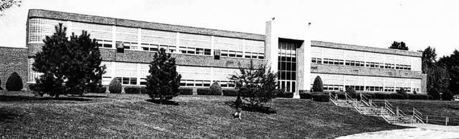 The F.W. Olin Vocational School Building was a completely equipped modern facility for teaching industrial education, covering a variety of subjects such as machine shop work, mechanical and commercial drawing and art, nursing, printing, auto shop, electricity, homemaking, distribution — to name a few. The building is now part of the Alton Middle School campus. Photo: File Photo