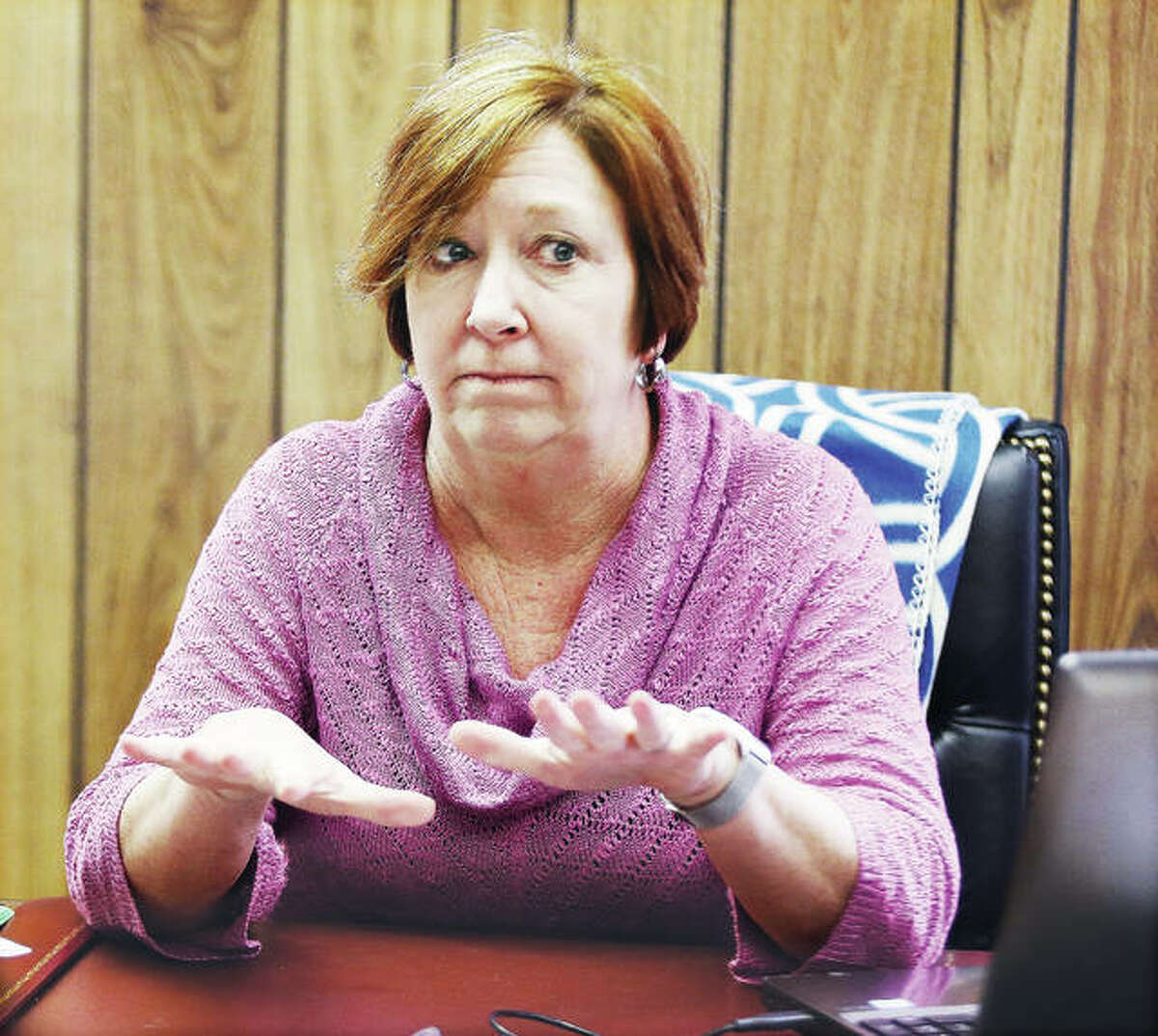 New Illinois 111th District Rep. Monica Bristow talks about her plans as she prepares for her first House session in the seat of former state Rep. Dan Beiser.