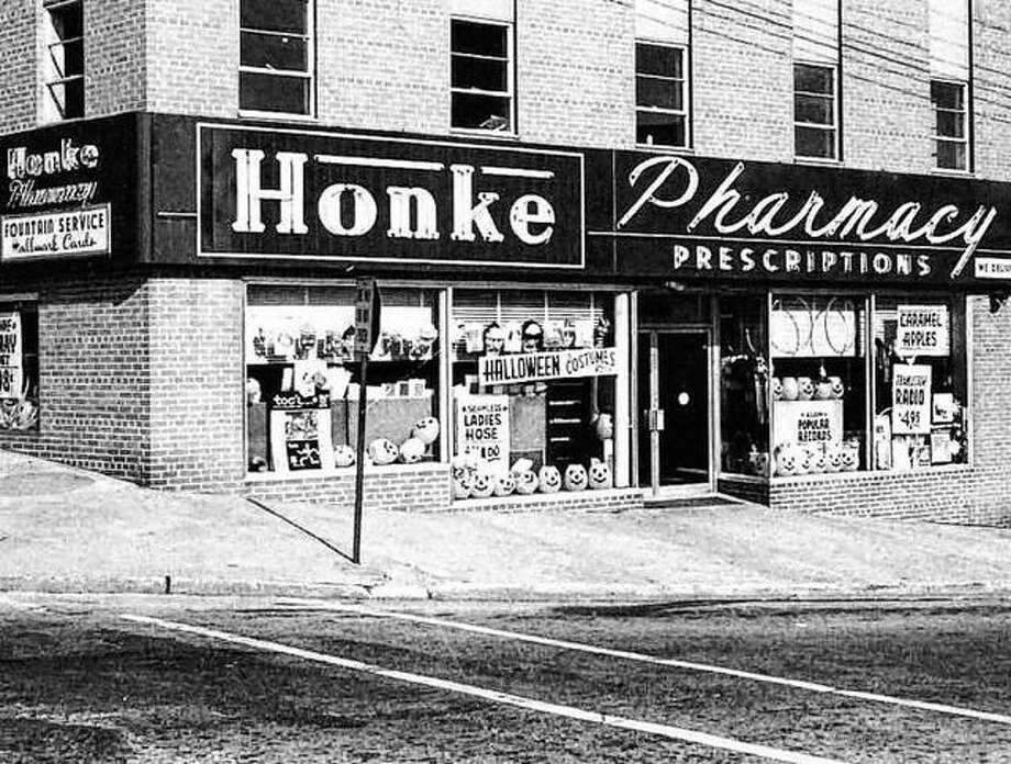 For all of their prescription needs, Altonians would go to the friendly, reliable and fully qualified pharmacists at Honke Pharmacy located at 3rd and Henry Streets. They filled all the community's medical needs quickly and efficiently. In addition, they had a complete cosmetic selection, Hallmark greeting cards, quality candies from Schraft's, Whitmans, Pangburns and Kings and jewelry, toys, hobbies and gifts. The pharmacy was sold in 1995. Photo: File Photo