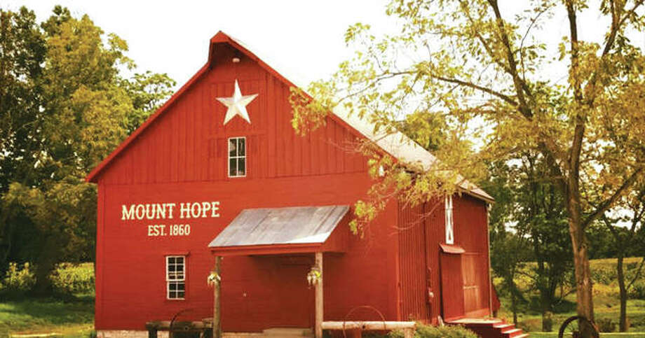 For The Telegraph Mount Hope Event Coordinator Sydney White, also a wedding planner, operates and manages Historic Mount Hope Barn Weddings, an all-accommodating, multi-million dollar venue with a majestic restored red barn in bucolic Calhoun County, just outside Michael, Illinois, owned by her father, Jonah White, of Billy Bob Teeth fame. Photo: For The Telegraph