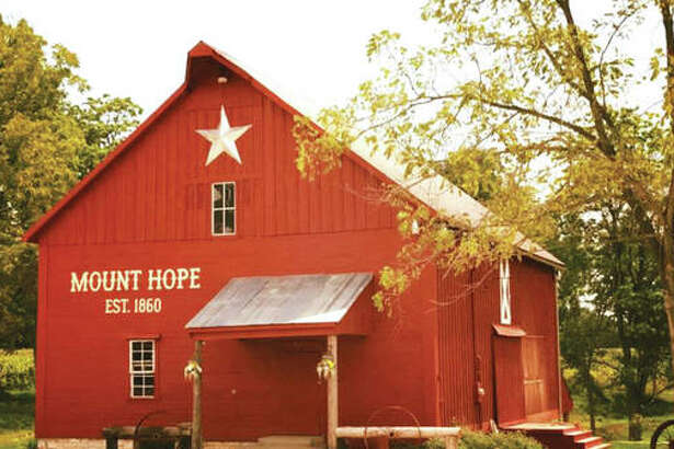 For The Telegraph Mount Hope Event Coordinator Sydney White, also a wedding planner, operates and manages Historic Mount Hope Barn Weddings, an all-accommodating, multi-million dollar venue with a majestic restored red barn in bucolic Calhoun County, just outside Michael, Illinois, owned by her father, Jonah White, of Billy Bob Teeth fame.