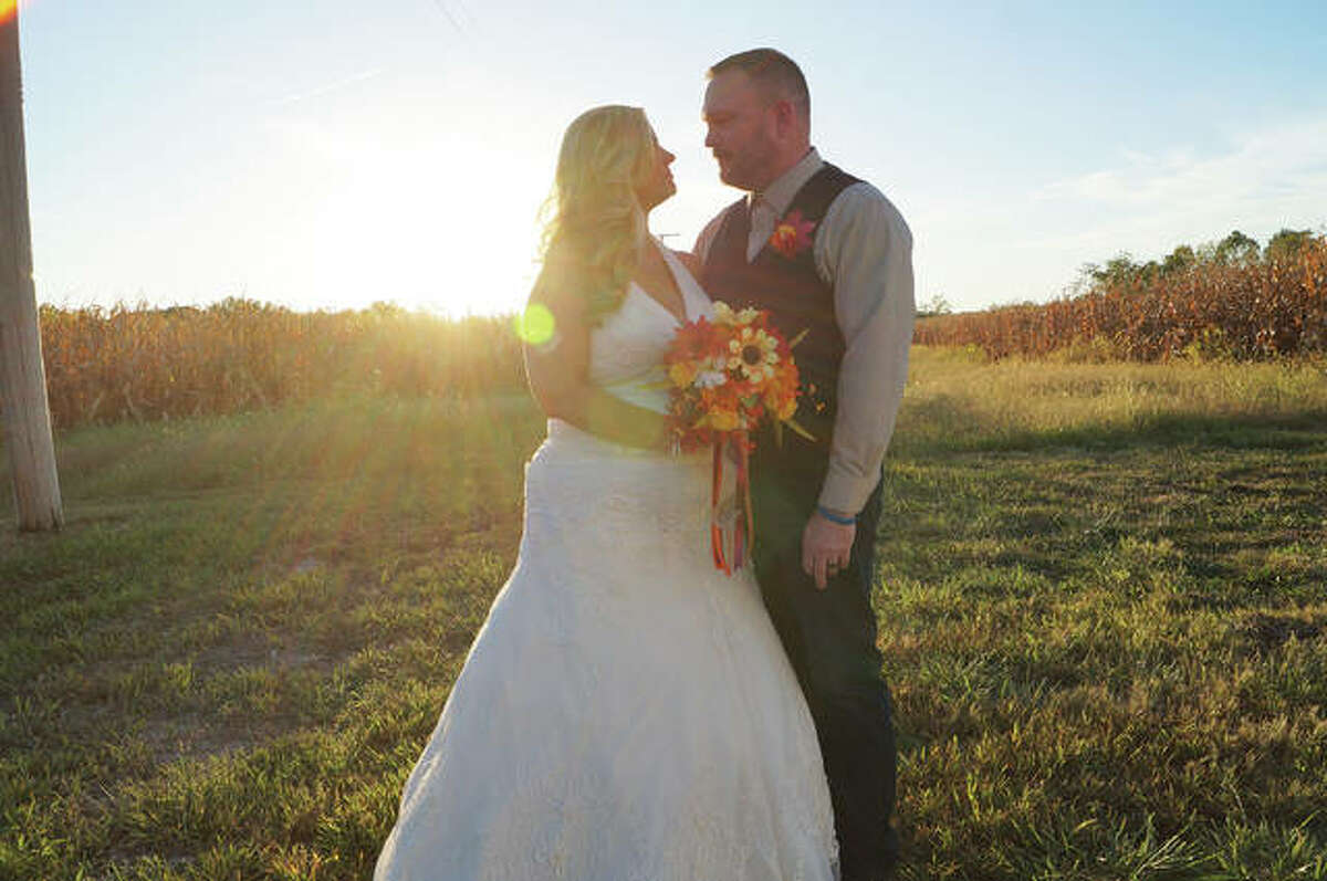 Mount Hope bride Tiffany Davis, with her husband, Donnie, said that Mount Hope's rustic barn venue is perfect for outdoor lovers and has the capacity for all wedding events and lodging to occur all in one place.