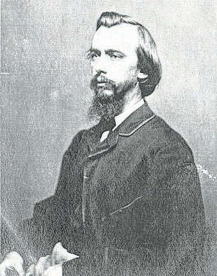 John George Nicolay (1832-1901), a former Pittsfield newspaper owner, served as one of President Abraham Lincoln's private secretaries.