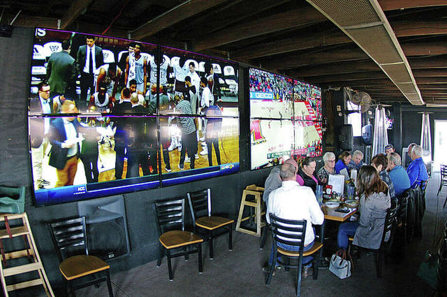 All of the screens in Roper's Regal Beagle sports bar will be tuned to the Super Bowl on Sunday. Photo: David Blanchette | For The Telegraph