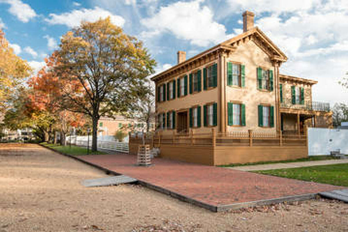 Abraham Lincoln's house in Springfield, Il
