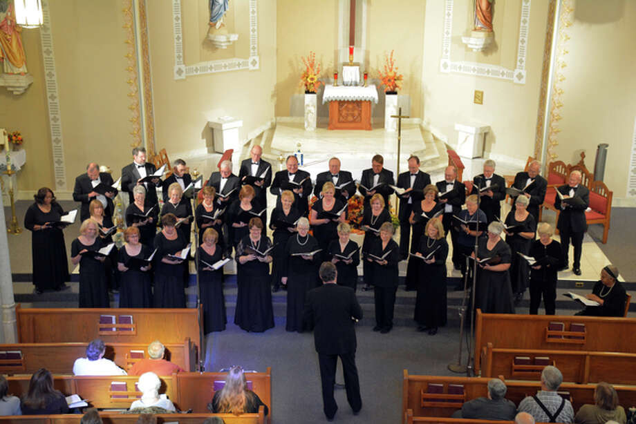 """The Great Rivers Choral Society will present """"Bless the Beasts and the Children"""" Saturday, Oct. 15, and Sunday, Oct. 16, at St. Mary's Church in Alton, and Sunday, Oct. 23, at St. Boniface Church in Edwardsville."""