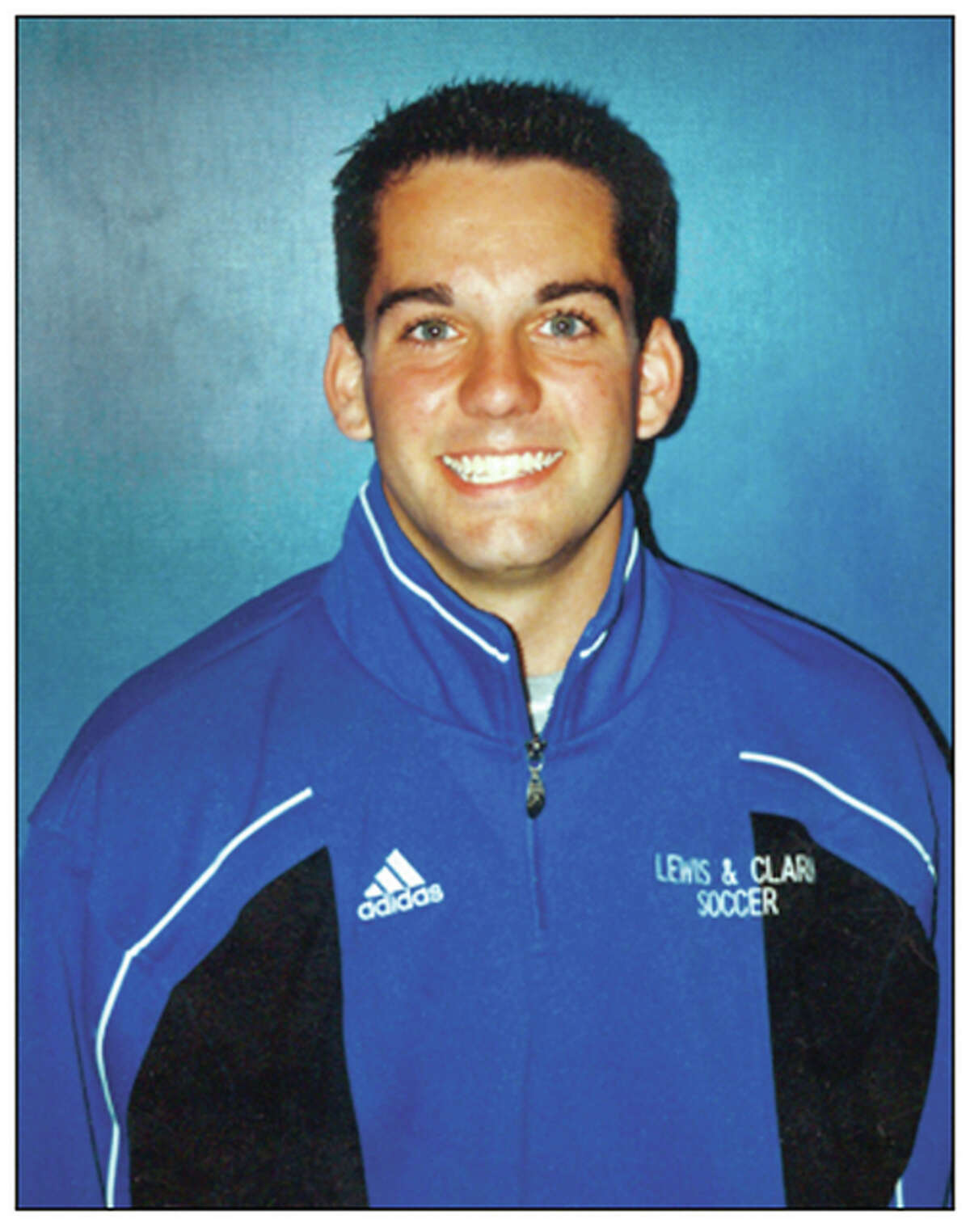 Blake Snyder from his days as a soccer player at Lewis and Clark Community College.