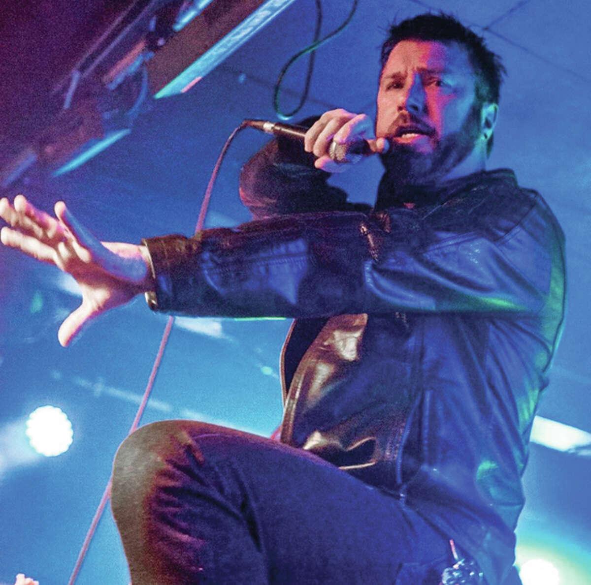 SEANCE lead singer Dean Preacher.