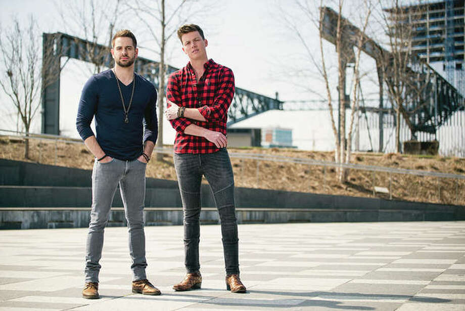 Cody Cooper (left) and George Birge of Waterloo Revival will be in concert Friday on the downtown square as part of Jacksonville Main Street's Levitt AMP Jacksonville Music Series. Photo: Handout Photo
