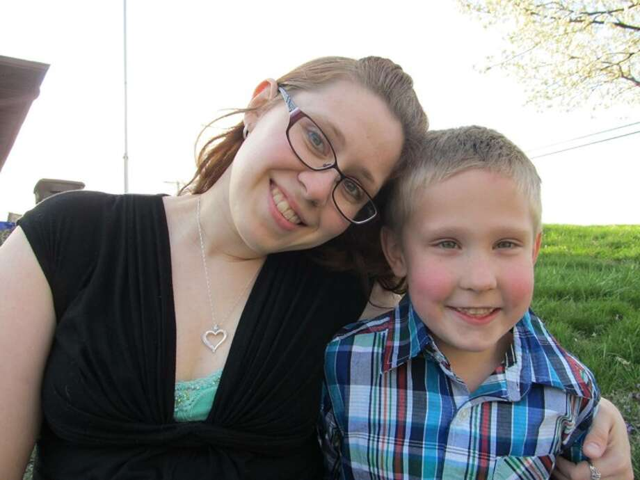 Janna Sauerwein and her son Carsyn. Submitted art. Janna Sauerwein and her son Carsyn.