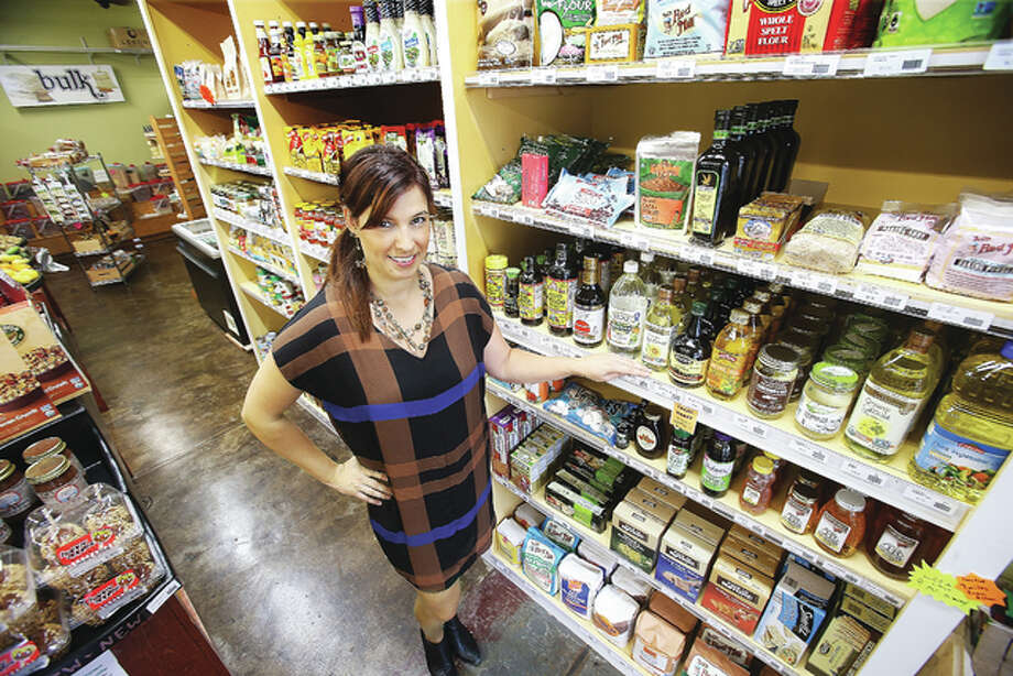 Lauren Boley is the new director of the Grassroots Grocery on Ridge Street in Alton.