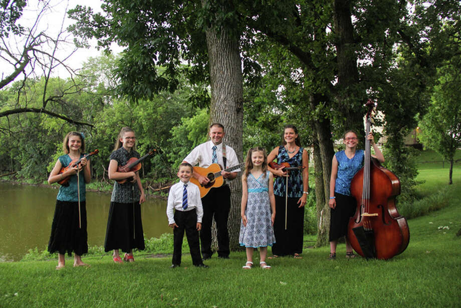 The Ostrom Family Band Photo: For The Telegraph