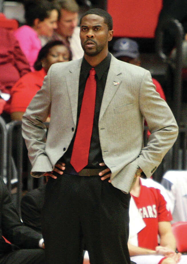 SIUE coach Jon Harris's team was picked to finished fifth in the West Division of the Ohio Valley Conference in a vote of league head coaches and sports information directors. Photo: SIUE Athletics