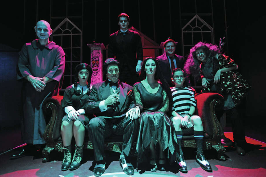 "The cast of ""The Addams Family,"" a musical presented by Alton Little Theater through Sunday, Nov. 6. Photo: David Blanchette