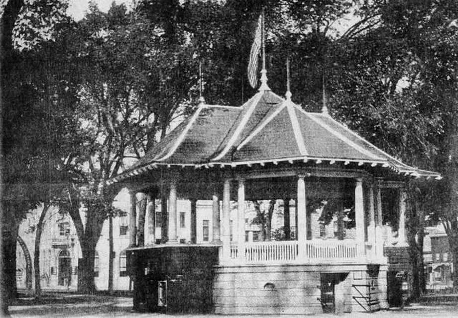 Jacksonville's Central Park bandstand in the early 1900s. Photo: Photo From Jack Barwick Collection
