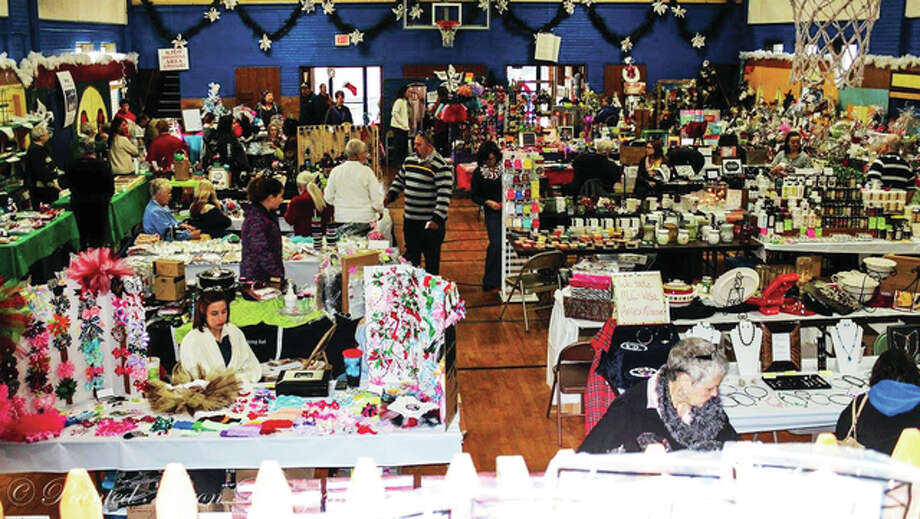 The annual Saints Peter and Paul Catholic Church Christmas bazaar offers an array of items to help get some early Christmas shopping accomplished. Photo: For The Telegraph