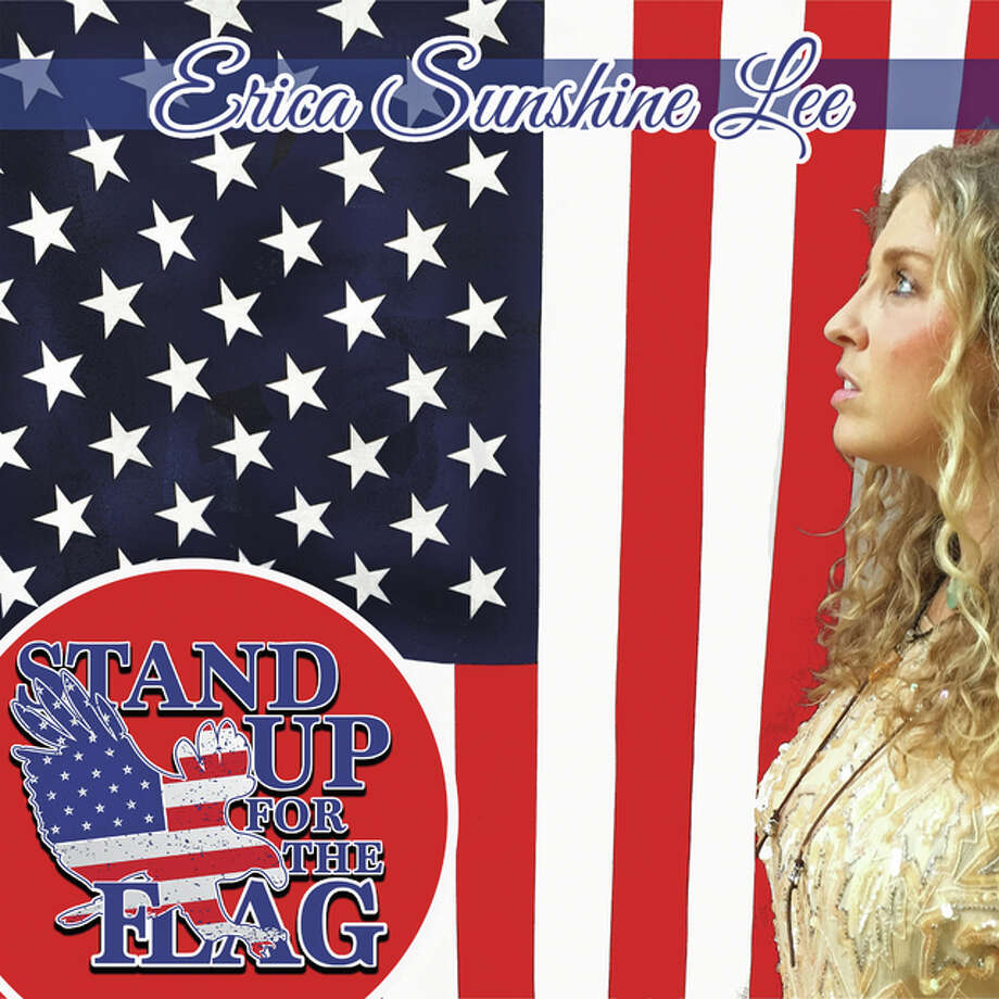"Erica Sunshine Lee, Nashville country singer/songwriter, recorded ""Stand Up (For The Flag)"" in honor of the organization and its mission. Photo: For The Telegraph"