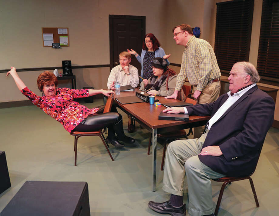 """Don't Talk to The Actors"" is a comedic play coming to Alton Little Theater as part of its 83rd season, opening Friday, Dec. 2. Photo: Pete Basola/For The Telegraph"