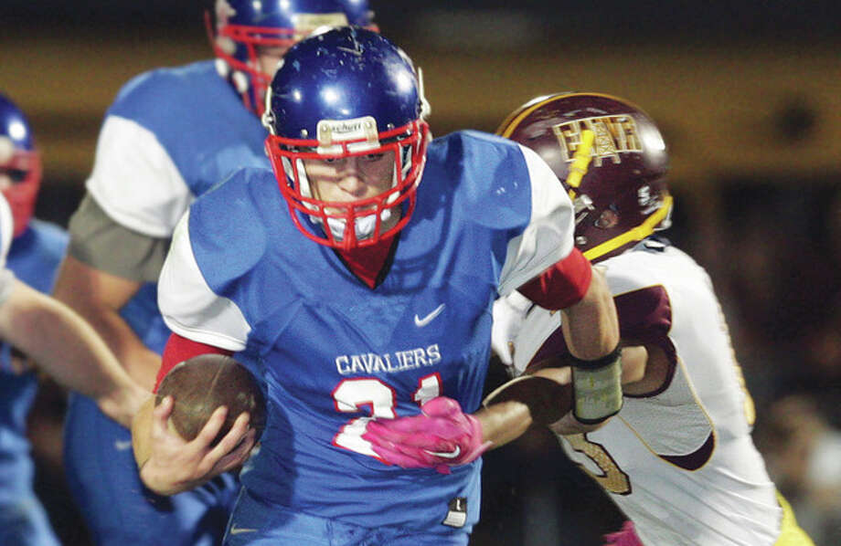 Carlinville's Jacob Dixon will lead Carlinville against Elmhurst IC Catholic in Friday's Class 3A state title game in Champaign. Photo: Telegraph File Photo