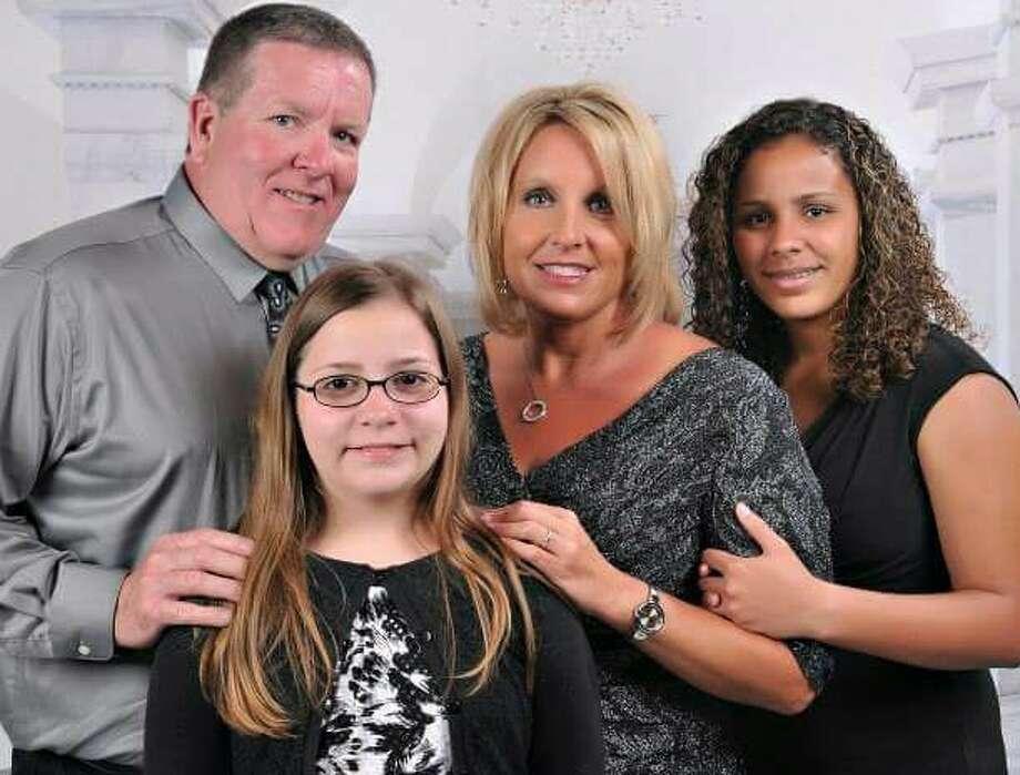 The Harris family.