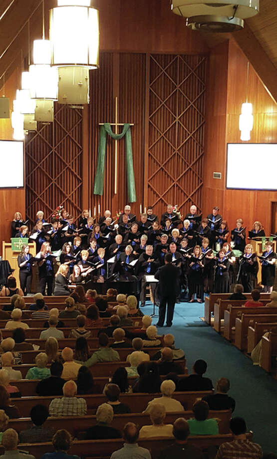 The Collinsville Chorale includes members from around the Metro East and the Greater St. Louis area. Photo: For The Telegraph