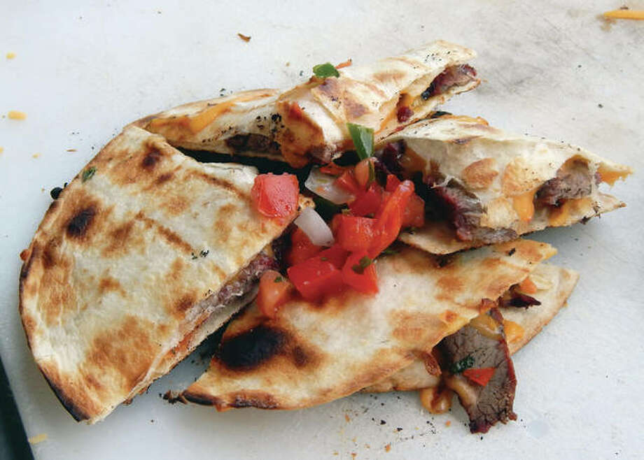 Toss a quesadilla on the grill this weekend and make a simple — but special — holiday snack. Photo: Angela Bauer | Journal-Courier
