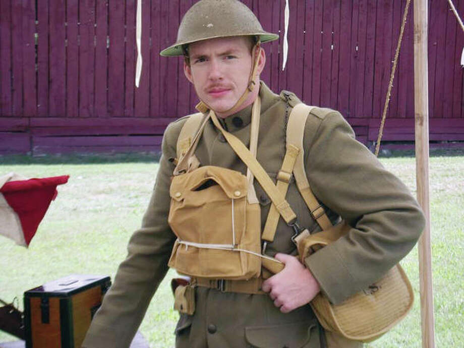 "Justin Rexrode will portray Sgt. Alvin C. York during ""Sergeant York and the Great War"" at 5 p.m. Saturday as part of the Prairieland Chautauqua at First Christian Church. Photo: Photos Provided"