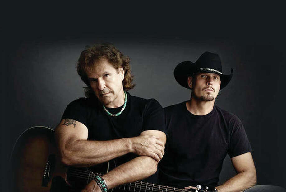Country band BlackHawk, featuring Henry Paul (left) and Dave Robbins, will be the headlining act Saturday night during the Arenzville Burgoo. Photo: Handout Photo