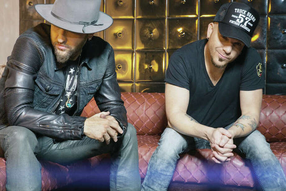 Locash — a country music duo consisting of Preston Brust (left) and Chris Lucas — will perform Saturday in South Jacksonville as part of the Concert in the Cornfield. Photo: Handout Photo