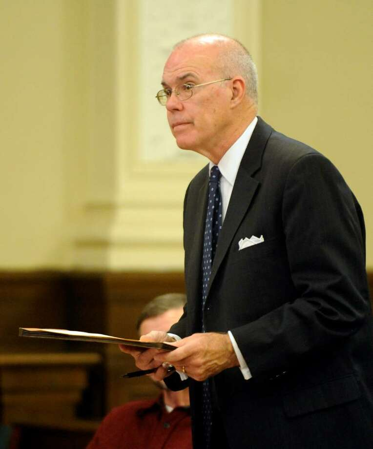 Former state judge Thomas J. Spargo of Albany County is set for a federal criminal trial on Aug. 24 after a jurist upheld attempted bribery and extortion charges against him. Photo: SKIP DICKSTEIN