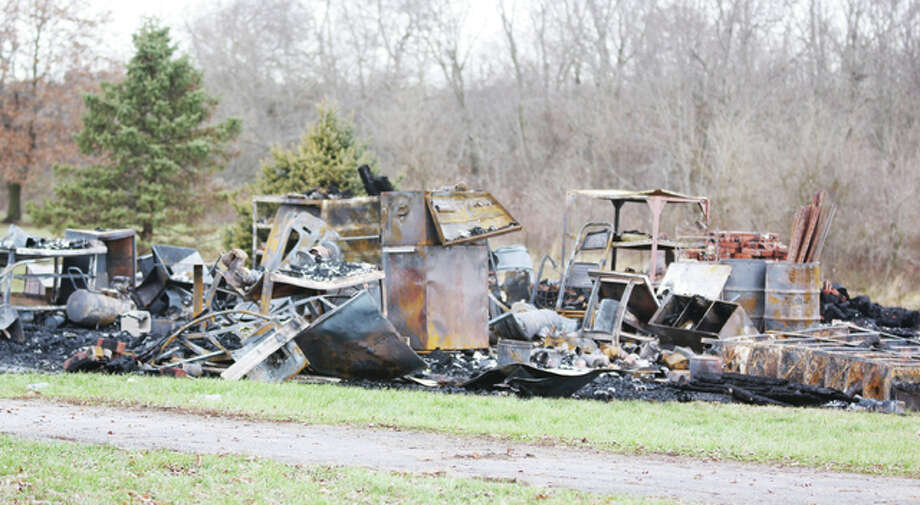 The Illinois State Fire Marshal's office is investiging a fatal fire in a garage in rural Macoupin County early Sunday morning. One person was killed in the blaze, which completely destroyed the structure.
