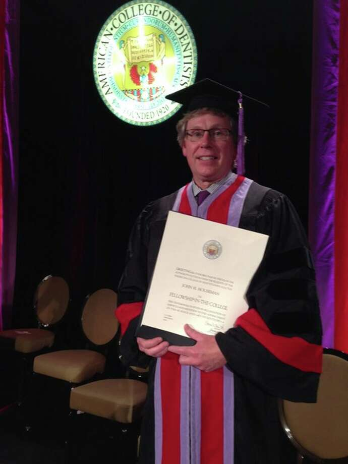 Dr. John H. Houseman of Jerseyville was awarded fellowship in the American College of Dentists on Oct. 20 during its annual meeting and convocation in Denver.